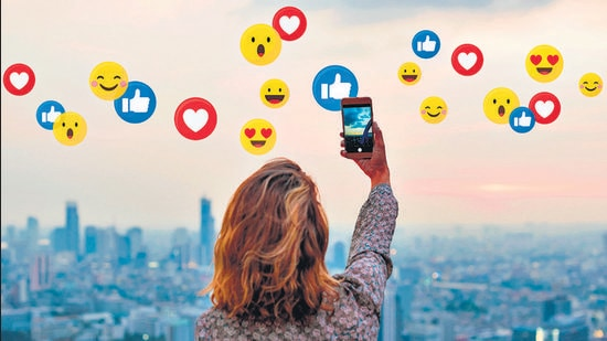 """Social media is the most passive form of social interaction, giving a complete new meaning to the phrase: """"alone in a crowd"""". (Shutterstock)"""