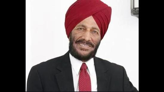 Milkha Singh contracted coronavirus infection on May 19. His wife, Nirmal Kaur, 85, succumbed to Covid-19 complications at a private hospital in Mohali on June 13. (HT file phot)