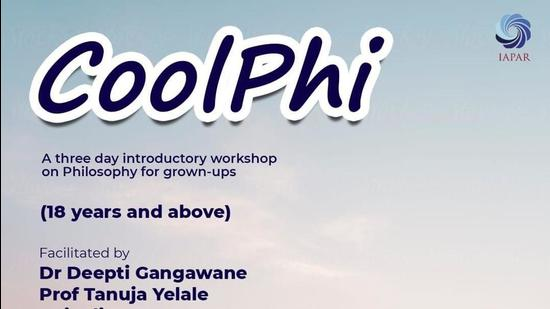 """Team IAPAR is all set to bring to you """"Coolphi"""", a three- day introductory workshop to Philosophy. Questions about the nature of the world (HT PHOTO)"""