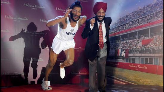 """Milkha Singh, who was known as """"The Flying Sikh"""", never lost the crown of being independent India's greatest track athlete.. (HT File)"""