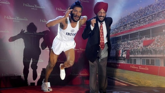 """Milkha Singh, who was known as """"The Flying Sikh"""", never lost the crown of being independent India's greatest track athlete. (HT File)(HT_PRINT)"""