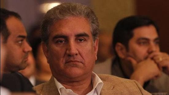 Pakistan Foreign Minister Shah Mahmood Qureshi. (HT Archive)