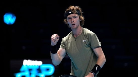 Russia's Andrey Rublev(Action Images via Reuters)