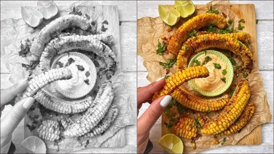Recipe: Let spicy corn ribs give a makeover to Mexican street corn, BBQ corn cob(Instagram/saltandshaikh)