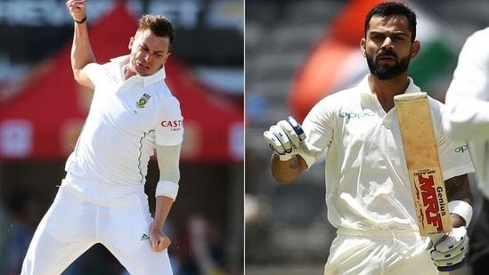 Dale Steyn and Virat Kohli. (Getty Images)