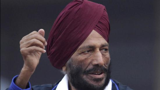 Indian sprint legend Milkha Singh died of post COVID-19 complications on Friday night. (AP)