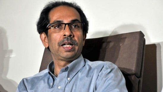 Uddhav Thackeray also asserted that the Sena's primary aim is not obtaining power and it would not compromise for that. (HT File)(HT_PRINT)