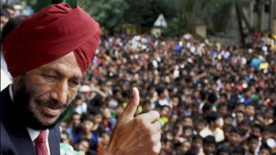 Milkha Singh was at the heart of a golden generation of our country's athletes, unofficial ambassadors of a free India. (PTI)