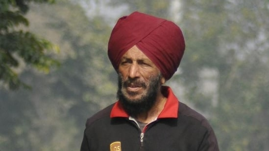 Milkha Singh lost a month-long battle to the coronavirus disease (Covid-19) on Friday.(HT file photo)