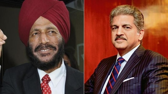 Anand Mahindra took to Twitter to pay tribute to Milkha Singh.(FIle Photo)