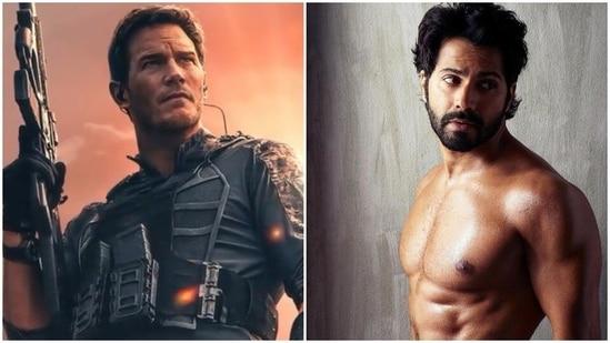Chris Pratt has responded to Varun Dhawan's praise for his upcoming movie.