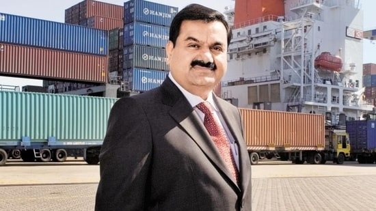 Gautam Adani now has a net worth of $63.5 billion(HT photo)