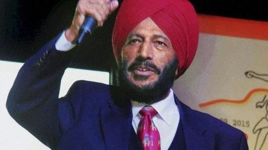 A file photo of legendary Indian athlete Milkha Singh. (PTI)