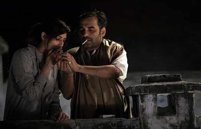 Kriti Sanon and Pankaj Tripathi in Bareilly Ki Barfi