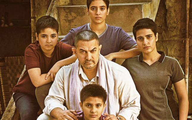 The poster of Dangal