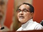 Madhya Pradesh chief minister Shivraj Singh Chouhan said his government is launching a gran Covid-19 vaccination programme on Monday.(Raj K Raj/HT File Photo)
