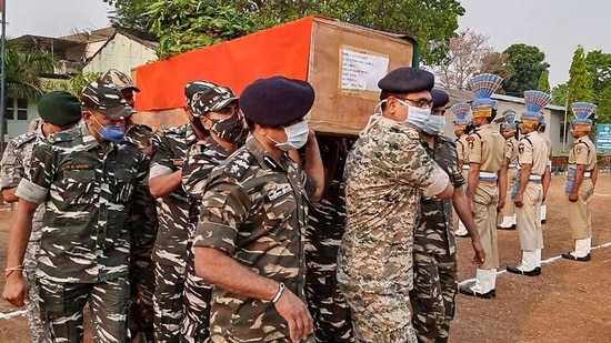 One of the deadliest ambushes in recent times, the attack was led by commander of Battalion-I of the Maoists' People's Liberation Guerilla Army, Hidma. (PTI)