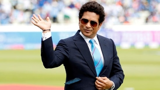 Father's Day 2021: Master Blaster Sachin Tendulkar took to Twitter to share the post.(Reuters)