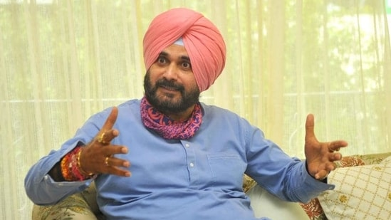 Navjot Singh Sidhu says Punjab CM Capt Amarinder Singh has to take the responsibility of the Congress government's unkept promises. (Keshav Singh/HT)