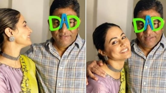 Hina Khan's father died two months back in Mumbai.