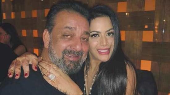 Trishala Dutt with her father, actor Sanjay Dutt.