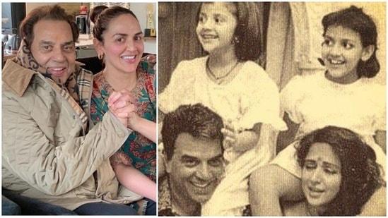Dharmedra has two daughters with wife Hema Malini--Esha and Ahana Deol.
