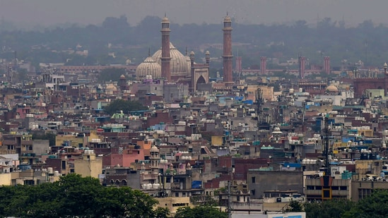 Delhi on Sunday recorded 124 new Covid-19 cases and seven deaths in the last 24 hours.(PTI)