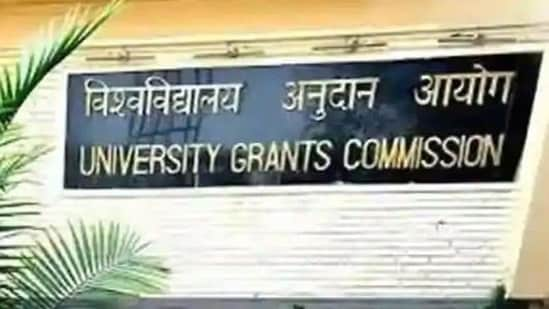 """The UGC has asked all universities, colleges and technical institutions to put up banners thanking PM Modi for """"starting free vaccination for 18 years and above age group"""", sources said Monday.(HT file photo)"""
