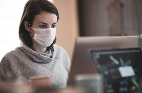 A recent study suggest that people who have social anxiety might experience increased distress due to mask-wearing.(Unsplash)