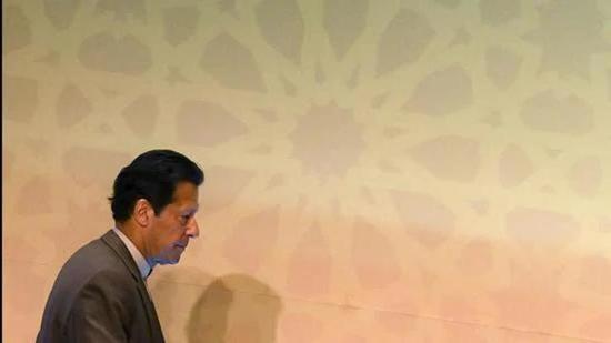 File photo: Pakistan's Prime Minister Imran Khan. (AFP)
