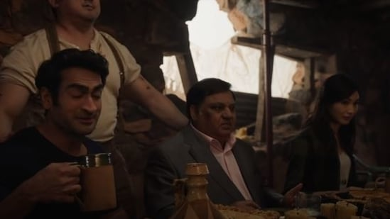 Harish Patel in a still from the trailer for Marvel's Eternals.