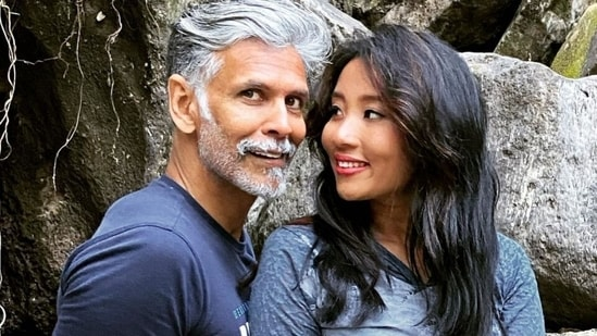 Ankita Konwar says yoga is a flow like life in video by Milind Soman, watch(Instagram/@milindrunning)