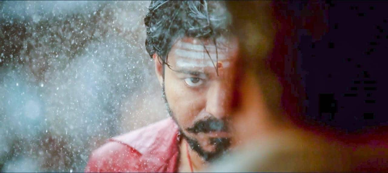 Mersal presents Vijay in a triple role.