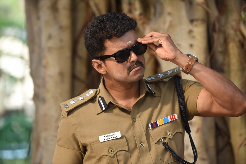 Vijay as a cop to Theri.