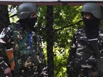 On Monday, three LeT terrorists were neutralised including top Commander Mudasir Pandit, who was involved in the killing of three policemen and four others, in an encounter by security forces in Sopore of Jammu and Kashmir's Baramulla district.(AFP)