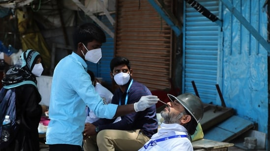 A senior health department official said that the government has pulled up the district administration from the problems in testing and containment in the district.(AP)