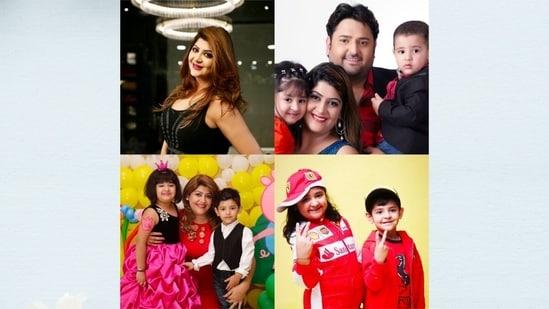 Aksha Kamboj and her wonderful family
