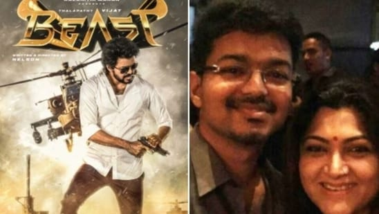 On Vijay's birthday on Tuesday, the second-look of his film, Beast was unveiled.