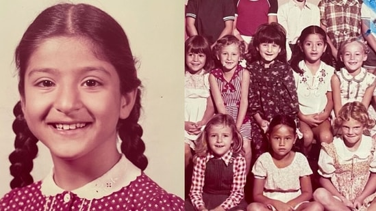 Maheep Kapoor shares pictures from her school days.