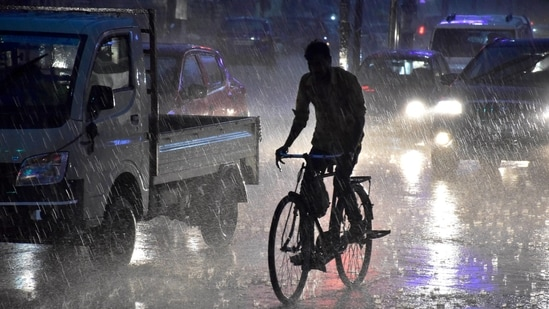 The monsoon has so far covered most parts of the country except parts of Rajasthan, Delhi, Haryana and Punjab.(PTI)