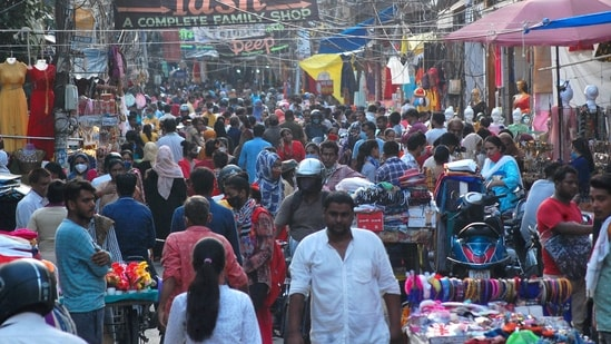 India is poised at a unique moment in history, where it can exploit its demographic advantage to realise its economic goals.(PTI)