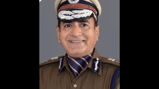 Haryana director general of police Manoj Yadava, who has sought repatriation to the Intelligence Bureau. (HT file photo)