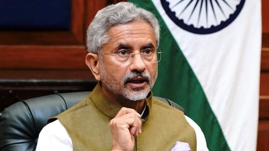 """""""Connectivity, data, technology even the climate challenge -- all of this is going to require us to work together more closely,"""" Jaishankar said.(PTI)"""
