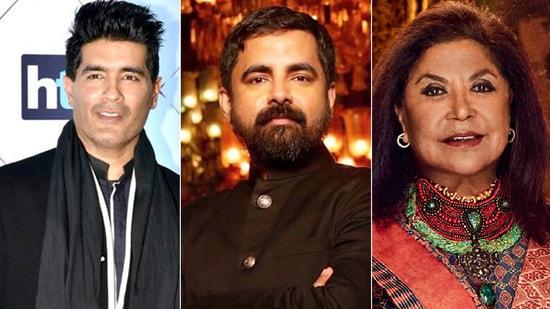Manish Malhotra, Sabyasachi, Ritu Kumar were summoned by ED on Wednesday.(HT )