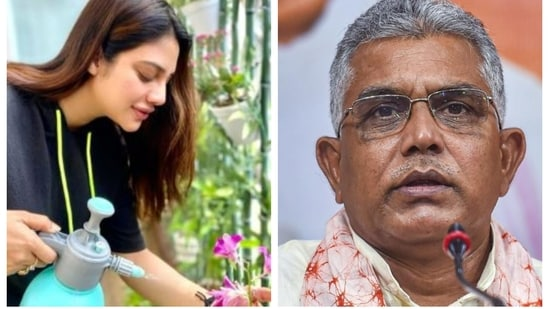 Nusrat Jahan has hurt Indian and Bengali culture by wearing sindoor and then denying her marriage, Dilip Ghosh has said.