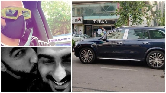 Ranveer Singh appears to have bought a new Mercedes Maybach GLS.