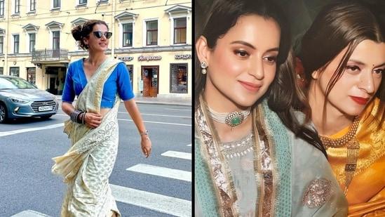Rangoli Chandel took a potshot at Taapsee Pannu, accusing her of copying Kangana Ranaut's style.