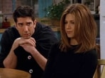 Jennifer Aniston and David Schwimmer played Rachel and Ross on Friends.