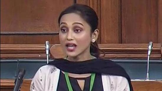 Trinamool Congress MP Mimi Chakraborty was also duped as she attended the vaccination camp on an invitation and took a dose. She however, grew suspicious when she didn't receive any message on her mobile. (PTI FILE PHOTO.)