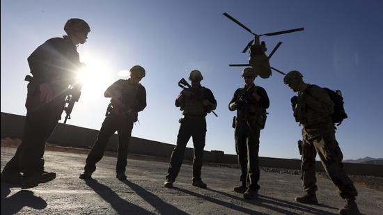 A file photo of American soldiers in Logar province, Afghanistan. (AP)